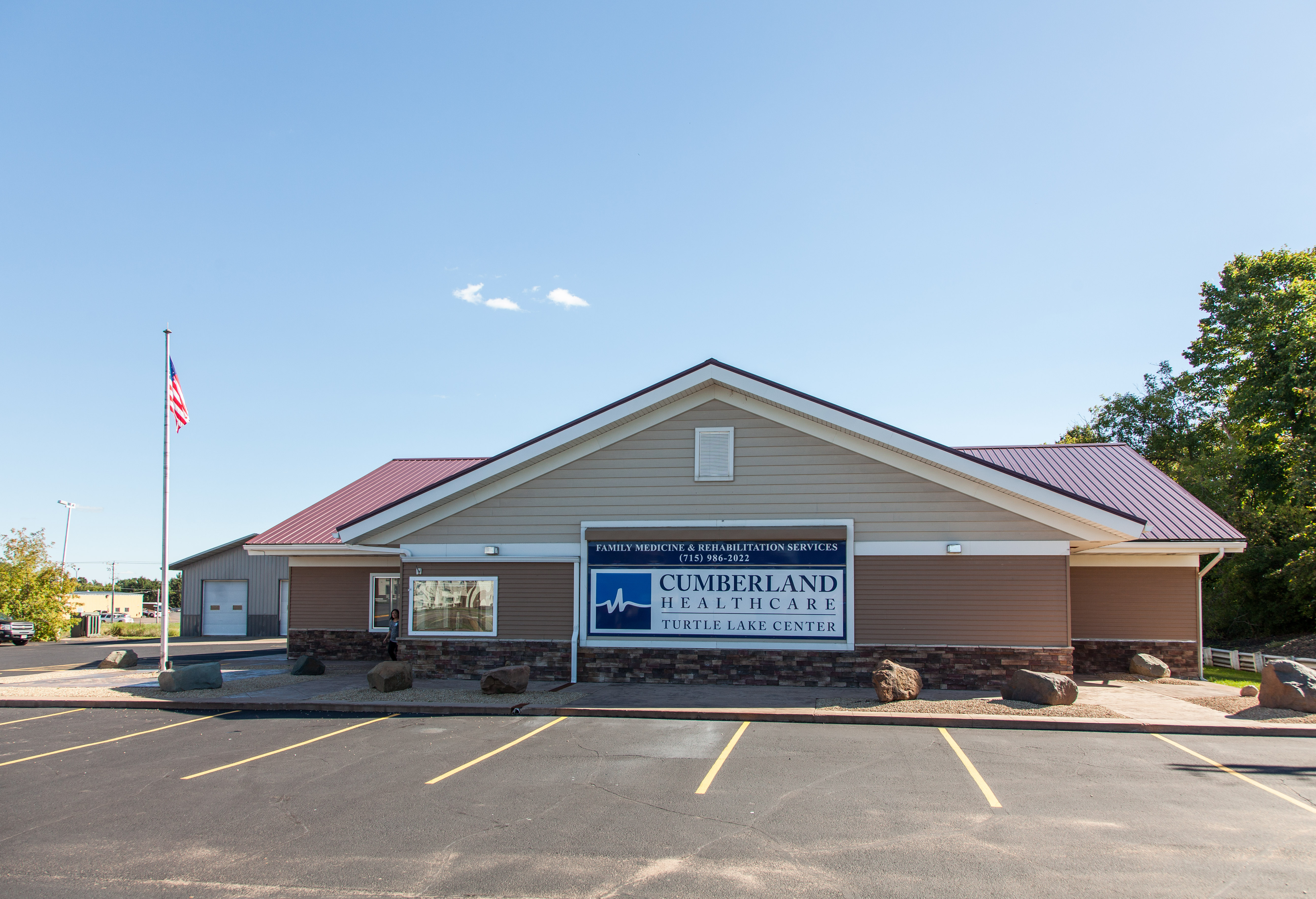 Turtle Lake Medical Clinic, Turtle Lake, Wisconsin, Cumberland